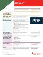 Transfusion Checklist