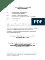 DAEOP-scholarship Application 2020