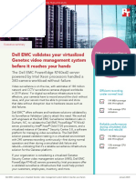 Dell EMC validates your virtualized Genetec video management system before it reaches your hands - Summary