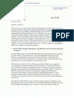 FDA Letter 7-16-09 Vlahoulis