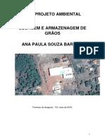 Projeto Ambiental de Licenciamento de Unidade de Armazenagem de grãos
