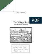 The Village Fool - Full Score.pdf