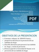 Acciones de prevención y de tratamiento  relacionados con uso y abuso de drogas 2010 2