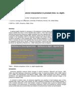 Pitfalls of seismic interpretation in prestack time- vs. depth migration data