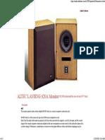 ALTEC LANSING 620A Monitor