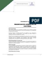 907.A1 Readecuación Ambiental de Canteras