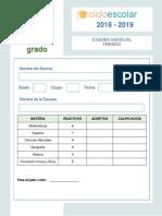 Examen_febrero_sexto_grado_2018-2019