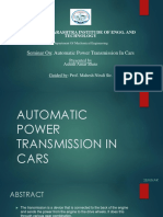 0_AUTOMATIC POWER TRANSMISSION IN CARS