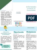 Enfermedades Crónicas no transmisibles.(1)