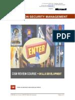 INFORMATION_SECURITY_MANAGEMENT_COURSE_CISM_REVIEW_COURSE_2006