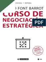 Curso de negociación estratégica