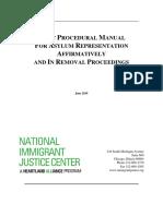 NIJC Asylum Manual_06 2019 Final