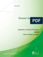 Legislación y Doctrina Extranjera Aborto - Edición actualizada marzo 2018 -