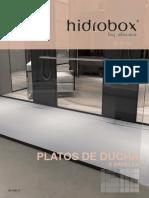 HIDROBOX CATALOGO TARIFA PLATOS DUCHA Y PANELES ES_V05.18-S pdf