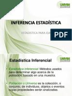 INFERENCIA ESTADÍSTICA_