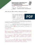 FIJACIÓN DE PUNTOS CONTROVERTIDOS