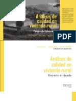 Análisis de Calidad en Vivienda Rural