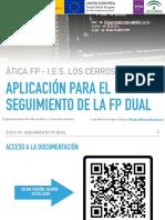 Introducción a ÁTICA FP para el I.E.S. Los Cerros