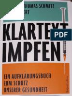 Klartext Impfen- Dr. Schmitz (Inhaltsverzeichnis)