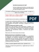 Qué Está Conduciendo Su Vida.docx 04-01-20