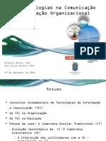 Tecnologias Para a Comunicação e Inovação Organizacional Na Educação_rev