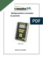 manual Simulator ECG PS-2110.en.es