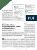 Biomass Recalcitrance