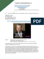Montgomery MD Judge Rand L. Gerber Violates VA Whistleblowers on ADA Advocacy & First Amendment.