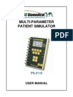 manual Simulator ECG PS-2110