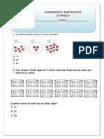 Matemática Diagnóstico