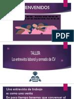 TALLER DE ARMADO DE CV