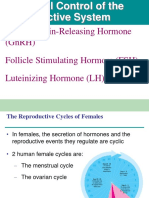 Hormonal Control of the Reproductive System