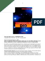 Giacomo Samek Lodovici - L'esistenza di Dio