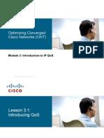 Ccnp-IV-Ont Mod 3 Lesson 1