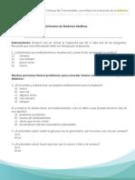 d.Cuestionario sobre conocimiento DM