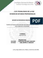 DISEÑO DE POZOS DE INFILTRACIÓN PARA DRENAJE PLUVIAL URBANO EN LA ZONA DE EL PESCADERO V2.docx