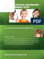 Full Coverage Restoration for Primary Teeth