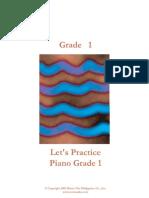 Grade 1 Piano