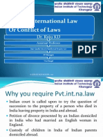 Conflict of Laws (Private International Law) Notes