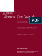 Donizzetti, Don Pascuale OPERA
