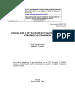 FRENKEL FANELLI - ESTABILIDAD Y ESTRUCTURA - INTERACCIONES EN EL CRECIMIENTO (1)