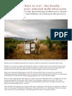 An Environmental Disaster in California