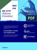 5 Curso Seguridad de la vacuna VPH edición Colombia