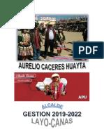 PLAN DE GOBIERNO MUNICIPALIDAD DISTRITAL DE LAYO 2018-2022