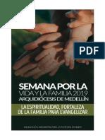 SEMANA POR LA VIDA Y LA FAMILIA