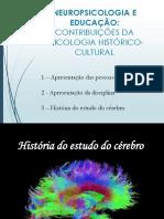 (1) História do Estudo do Cérebro