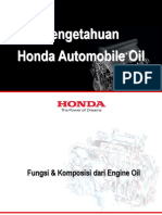 1107 - Honda Automobile Oil