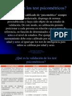 PPt. Test psicometricos de la personalidad