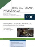 BRONQUITIS BACTERIANA PROLONGADA
