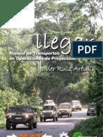 Llegar - Manual de transportes en operaciones de proyección